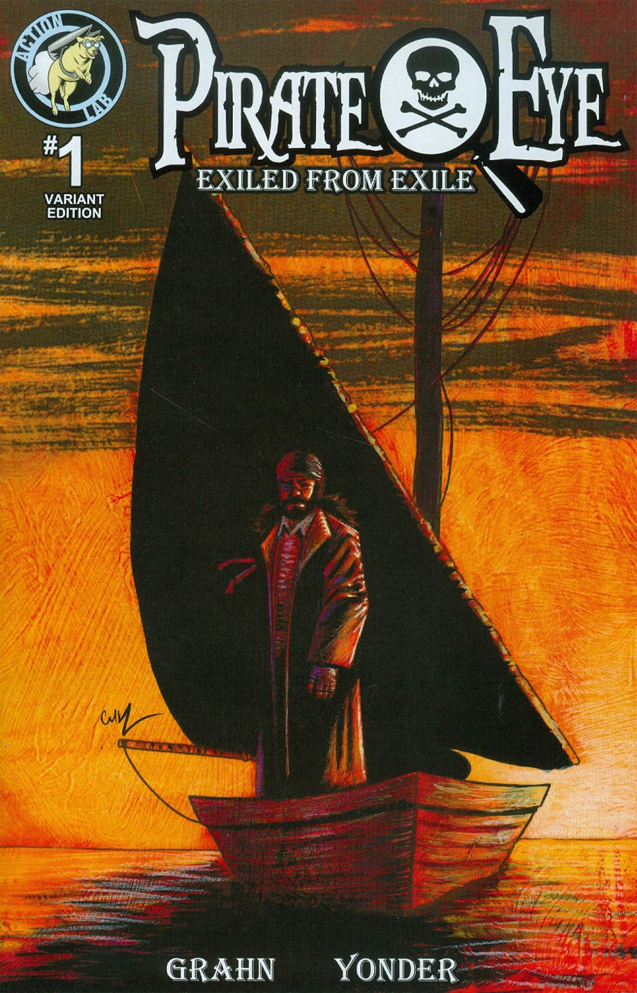 Pirate Eye Exiled From Exile #1 Cover B Variant Painted Cover