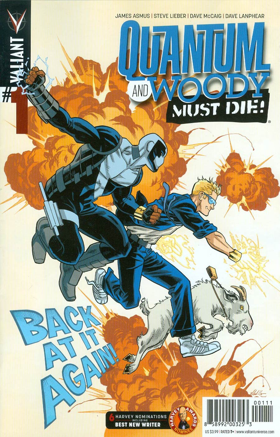 Quantum & Woody Must Die #1 Cover A Regular Mike Hawthorne Cover