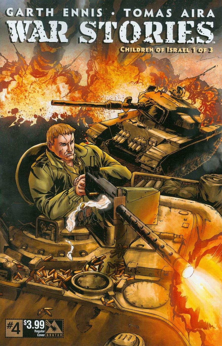 War Stories #4 Cover A Regular Cover