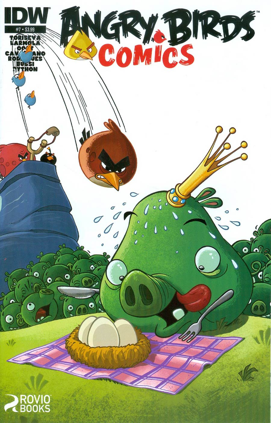 Angry Birds Comics #7 Cover A Regular Paco Rodriques Cover