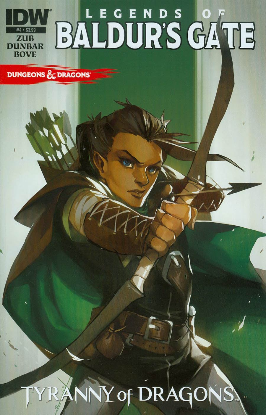 Dungeons & Dragons Legends Of Baldurs Gate #4 Cover A Regular Sarah Stone Cover