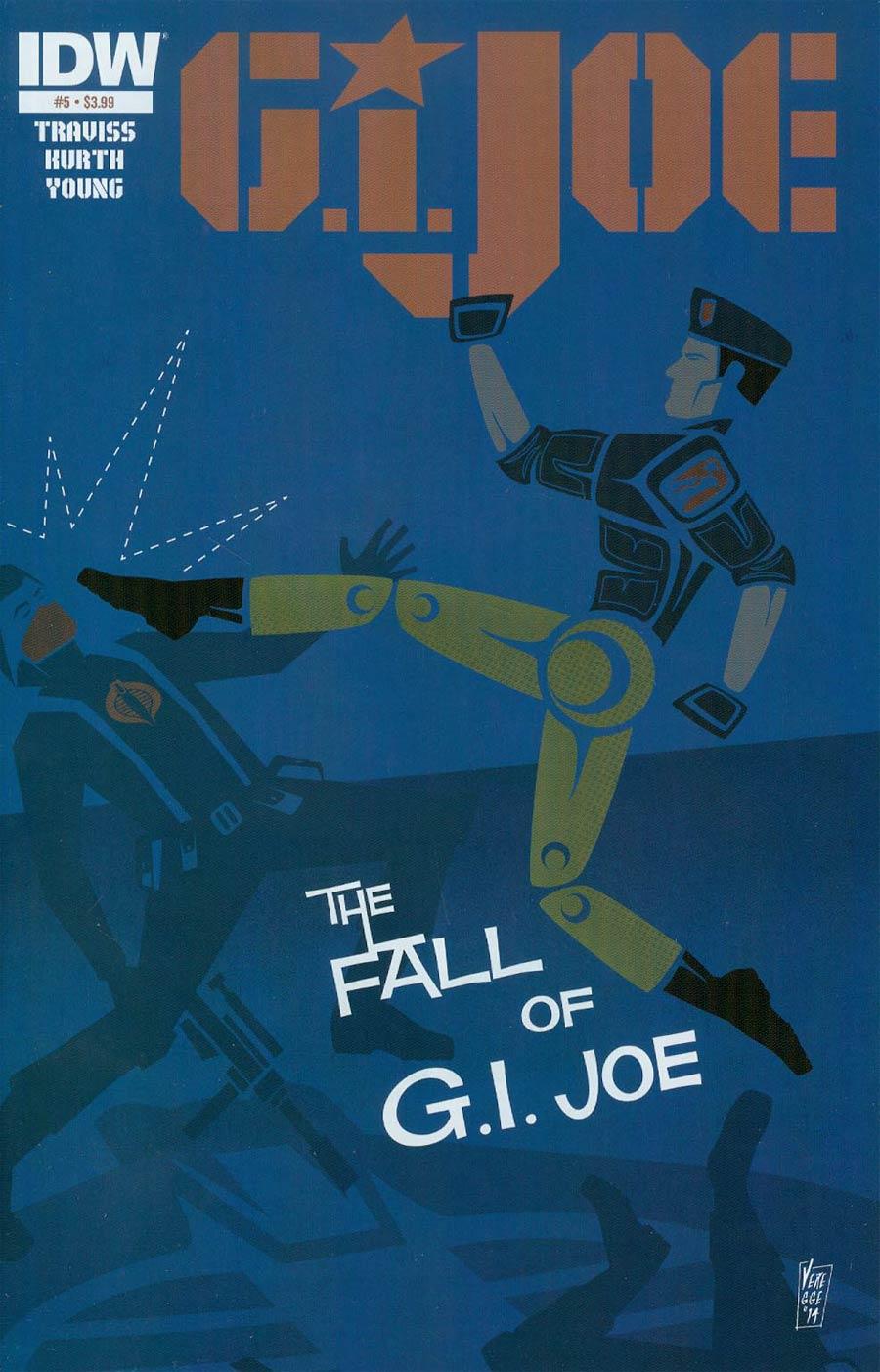 GI Joe Vol 7 #5 Cover A Regular Jeffrey Veregge Cover