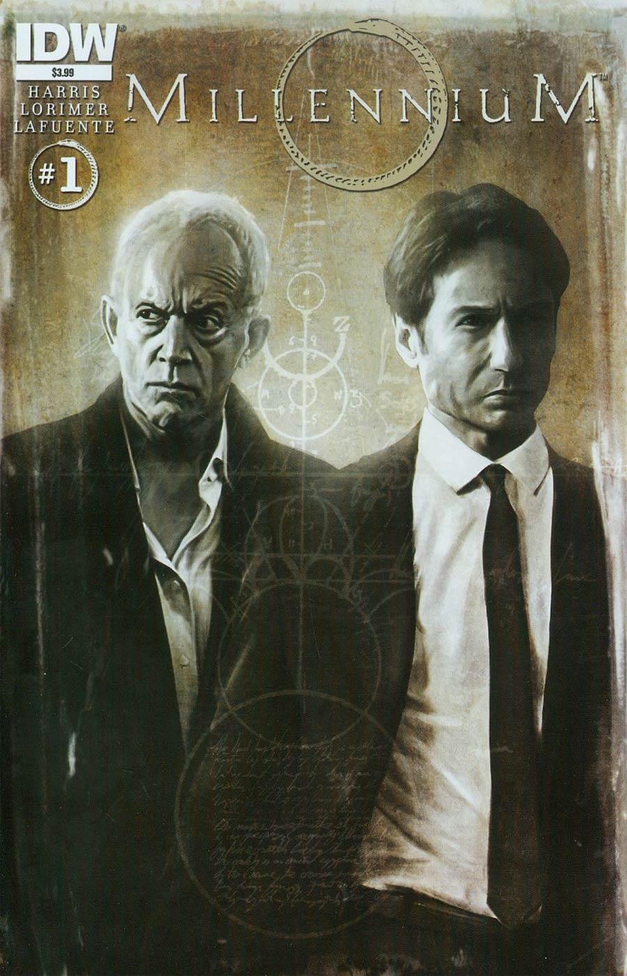 Millennium (TV) #1 Cover A Regular Menton3 Cover