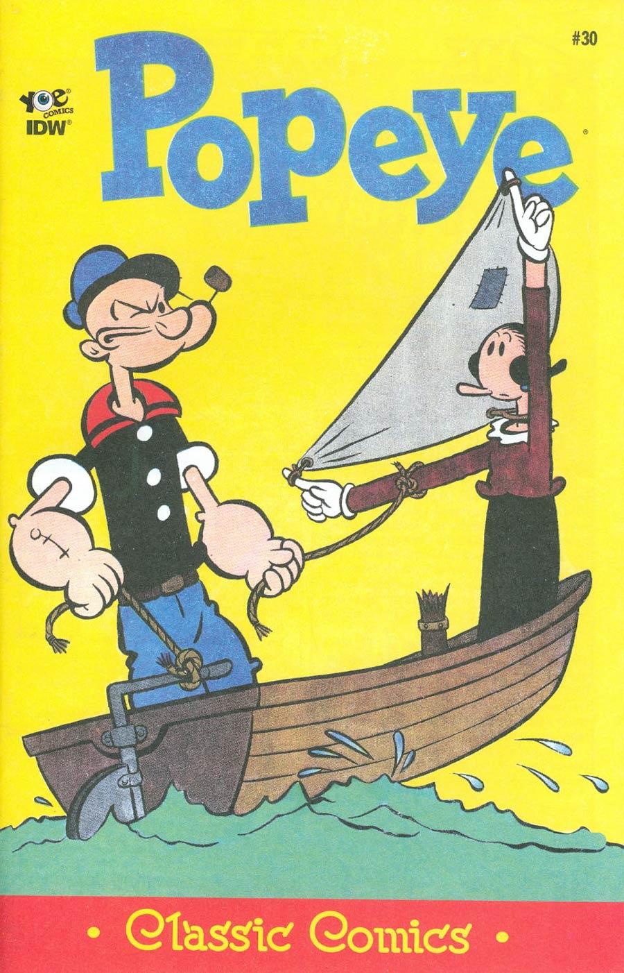 Classic Popeye #30 Cover A Regular Bud Sagendorf Cover