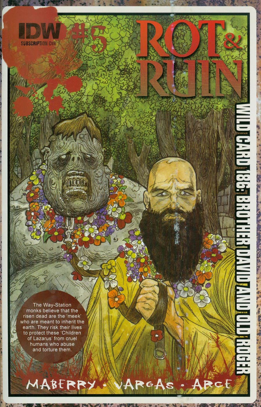 Rot & Ruin #5 Cover B Variant Robert Sacchetto Subscription Cover