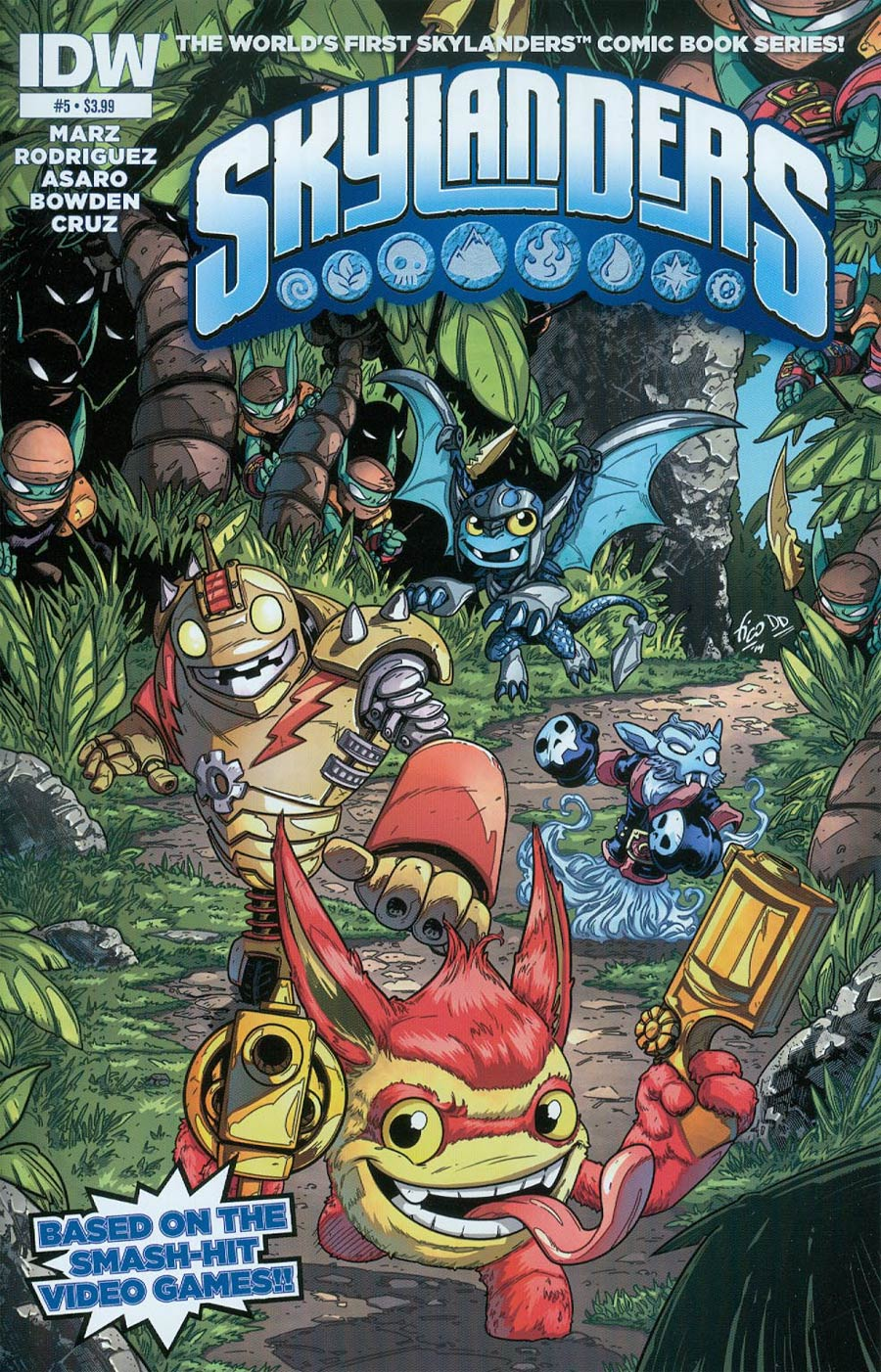 Skylanders #5 Cover A Regular Fico Ossio Cover