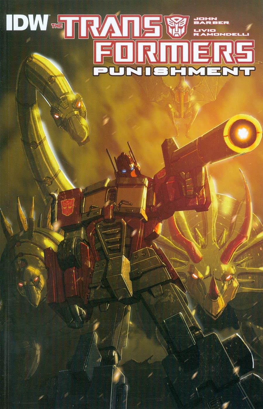 Transformers Punishment One Shot