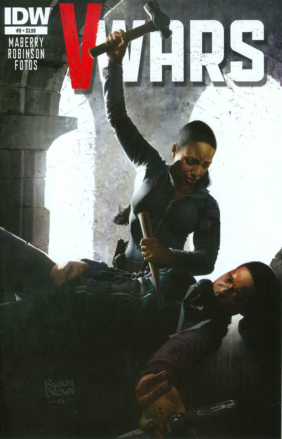 V-Wars #9 Cover A Regular Ryan Brown Cover