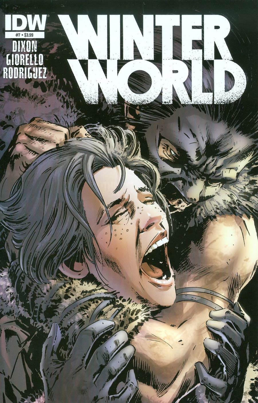 Winterworld Vol 2 #7 Cover A Regular Butch Guice Cover