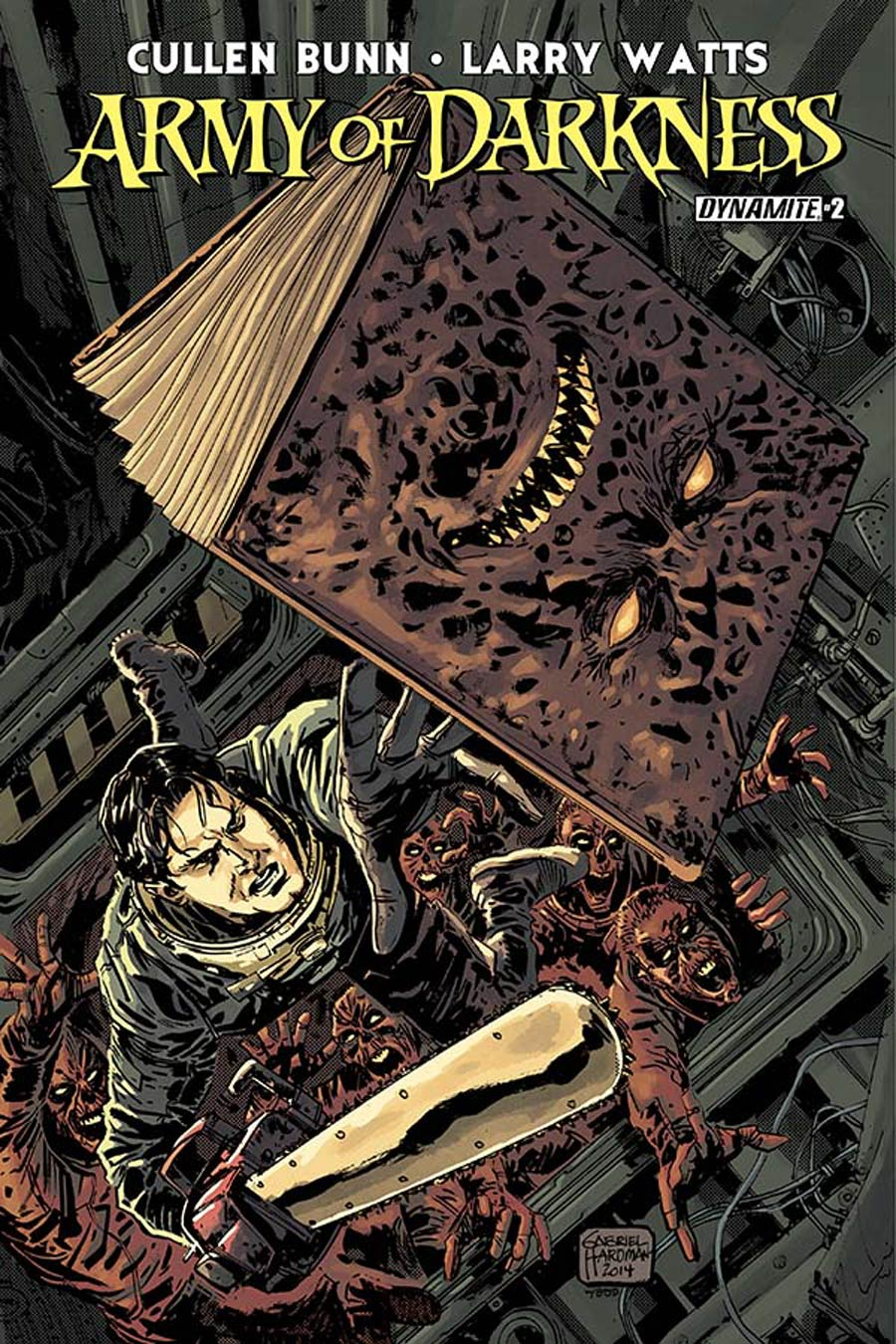 Army Of Darkness Vol 4 #2 Cover A Regular Gabriel Hardman Cover