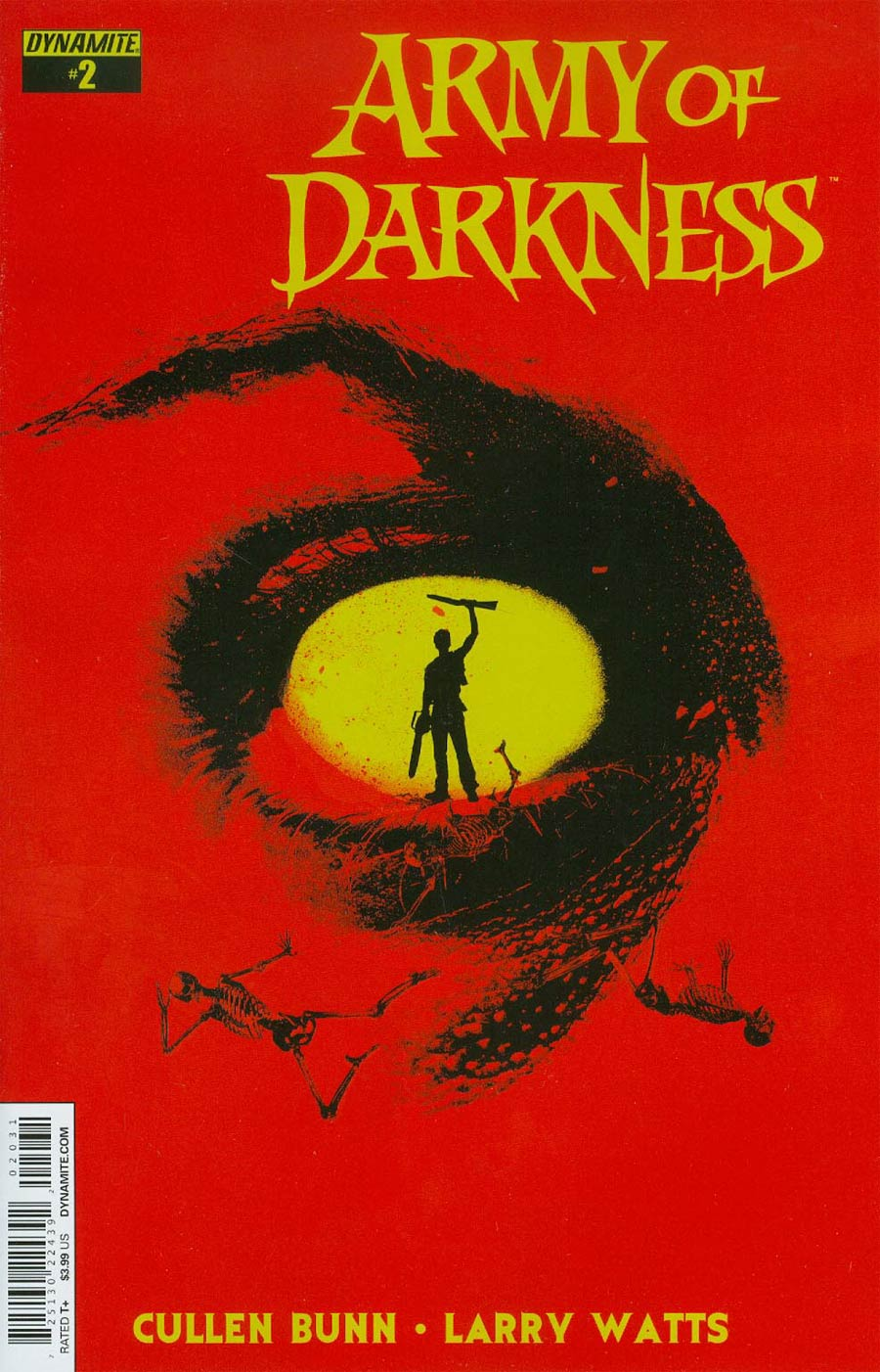 Army Of Darkness Vol 4 #2 Cover C Variant Jay Shaw Subscription Cover