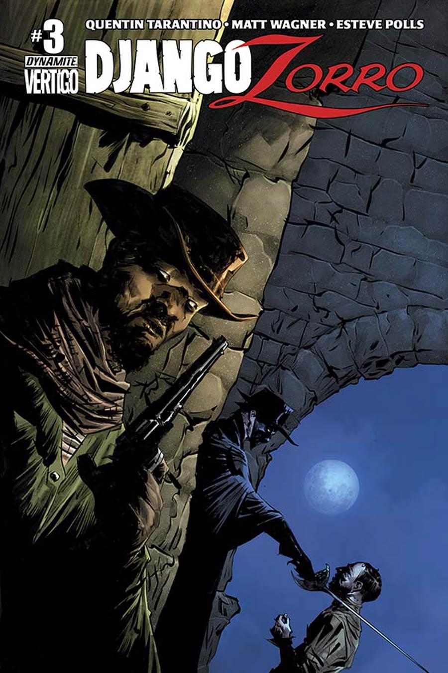 Django Zorro #3 Cover A Regular Jae Lee Cover