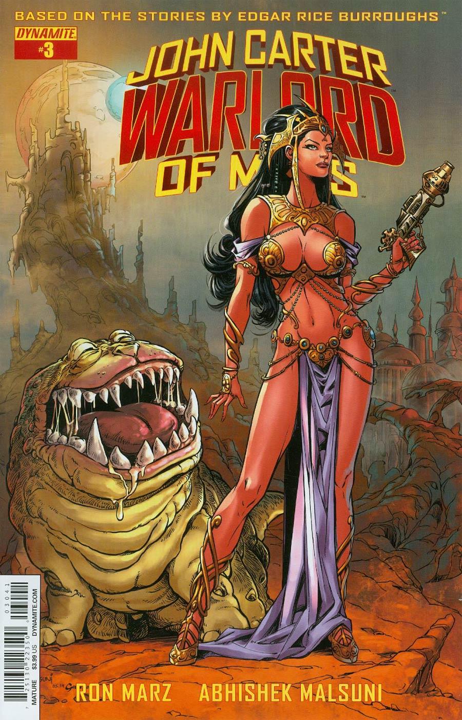 John Carter Warlord Of Mars Vol 2 #3 Cover D Variant Abhishek Malsuni Subscription Cover