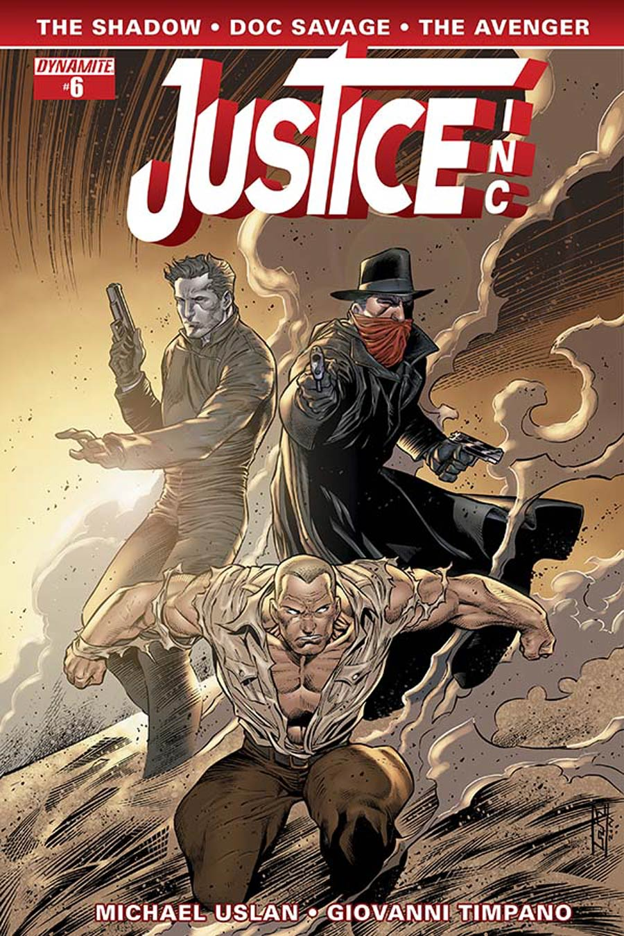 Justice Inc Vol 3 #6 Cover D Variant Ardian Syaf Subscription Cover