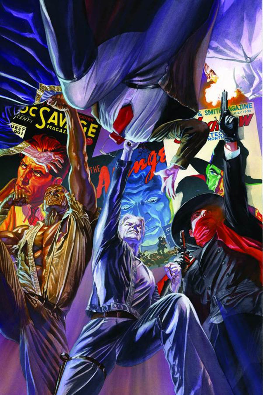 Justice Inc Vol 3 #6 Cover H Rare Alex Ross Virgin Cover