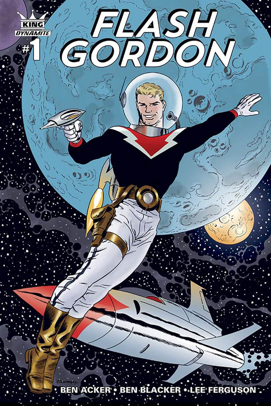 King Flash Gordon #1 Cover A Regular Darwyn Cooke Color Connecting Cover (1 Of 5)