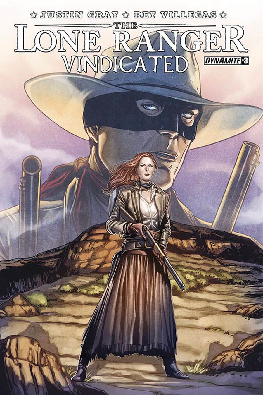 Lone Ranger Vindicated #3 Cover A Regular Marc Laming Cover