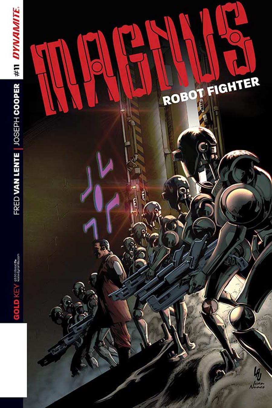 Magnus Robot Fighter Vol 4 #11 Cover A Regular Jonathan Lau Cover