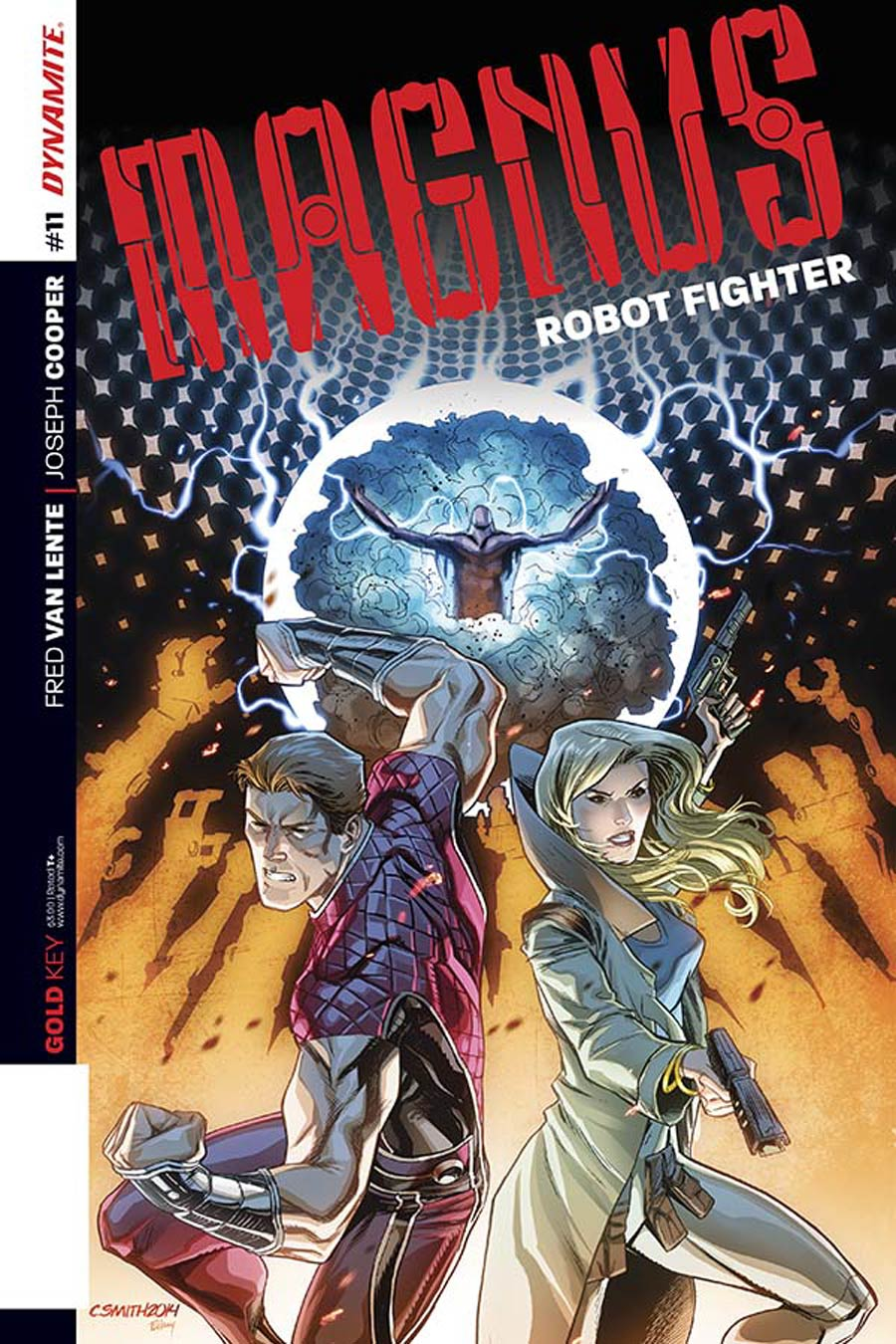Magnus Robot Fighter Vol 4 #11 Cover B Variant Cory Smith Subscription Cover