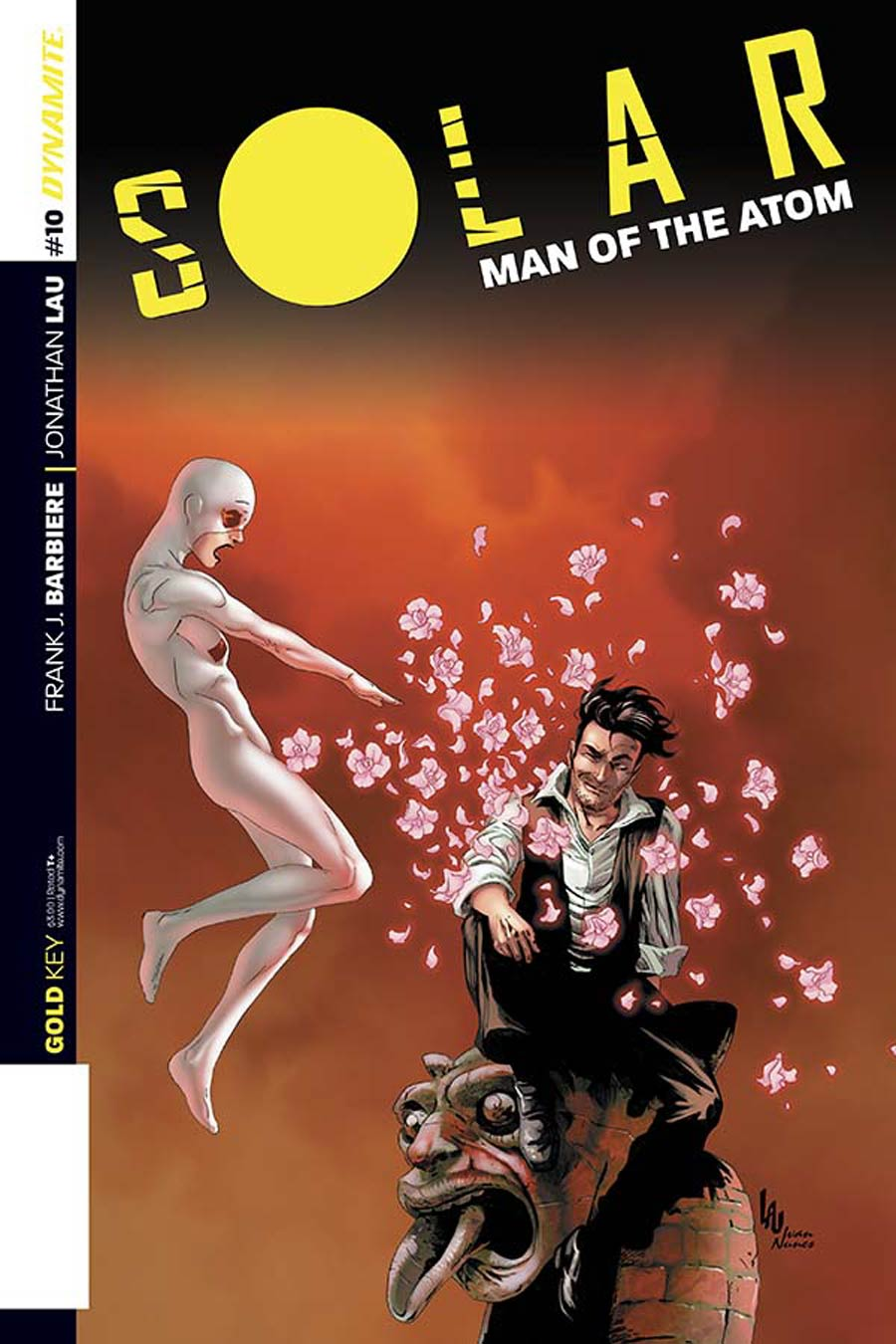 Solar Man Of The Atom Vol 2 #10 Cover B Variant Jonathan Lau Subscription Cover
