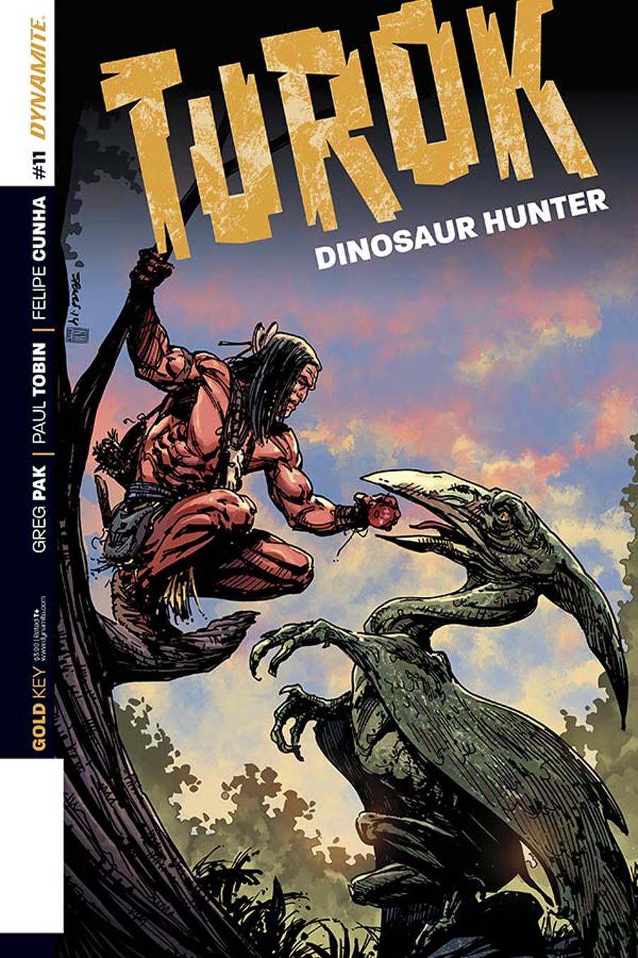 Turok Dinosaur Hunter Vol 2 #11 Cover A Regular Bart Sears Cover
