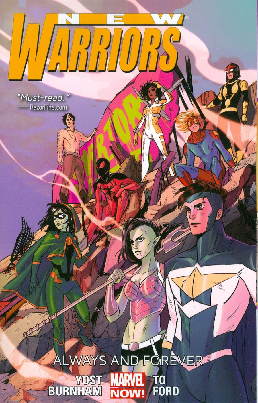 New Warriors Vol 2 Always And Forever TP