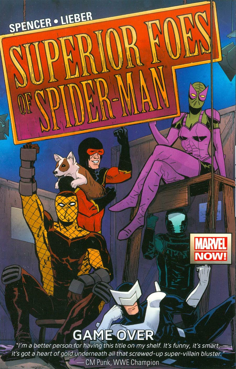 Superior Foes Of Spider-Man Vol 3 Game Over TP