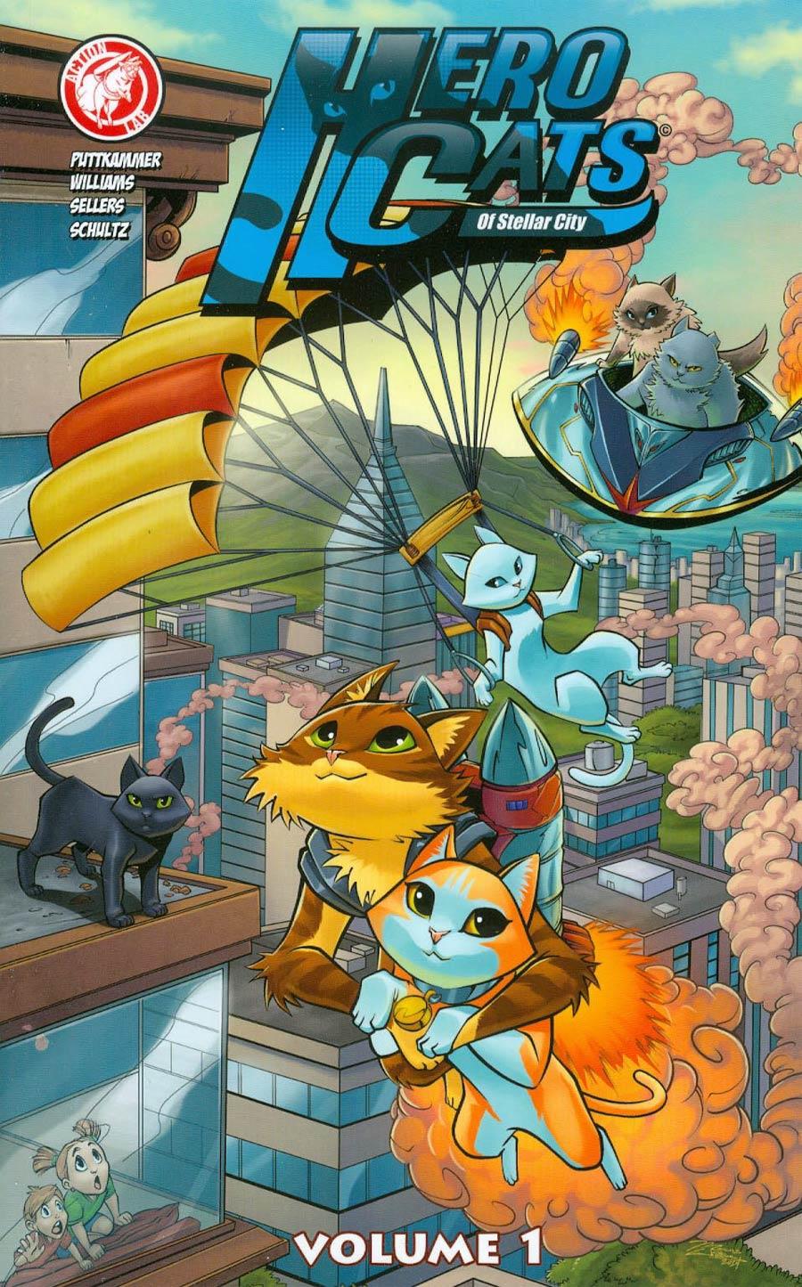 Hero Cats Of Stellar City Vol 1 TP
