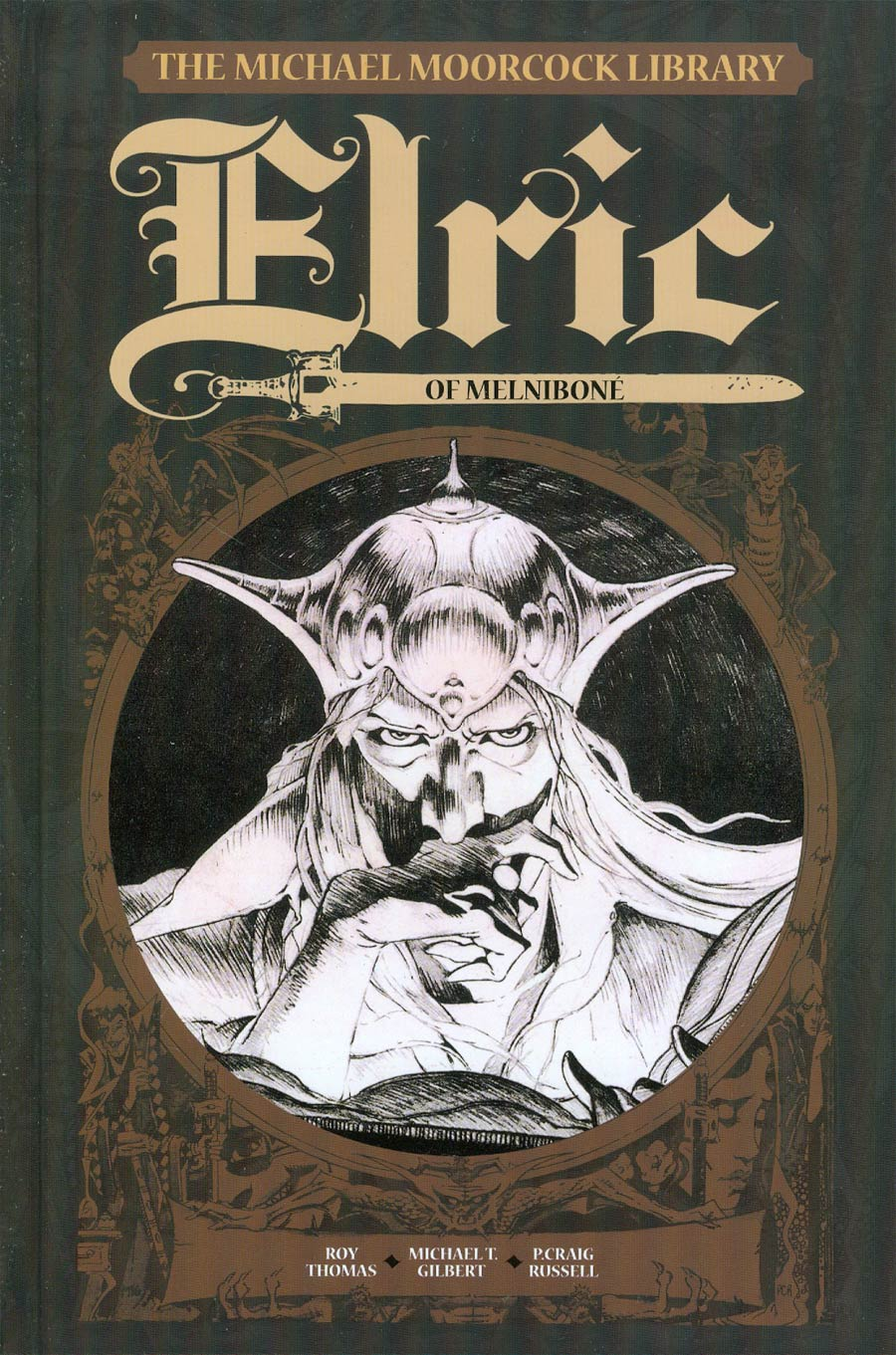 Michael Moorcock Library Vol 1 Elric Of Melnibone HC