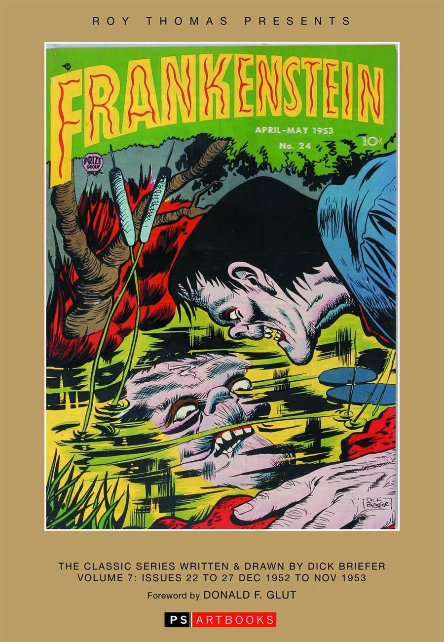 Roy Thomas Presents Dick Briefers Frankenstein Vol 7 1952-1953 HC