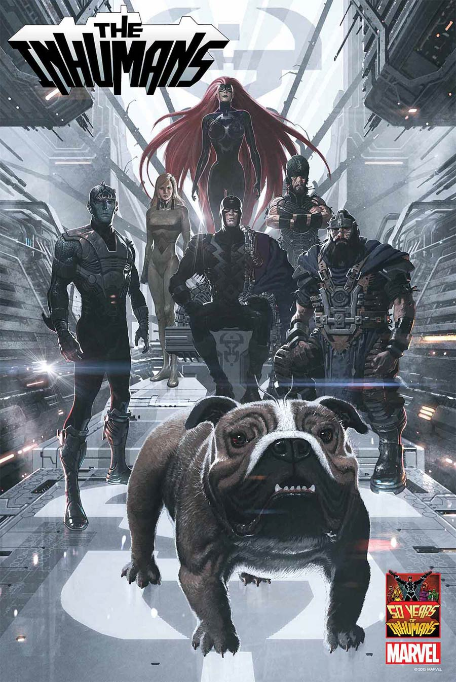 Inhumans 50th Anniversary Poster