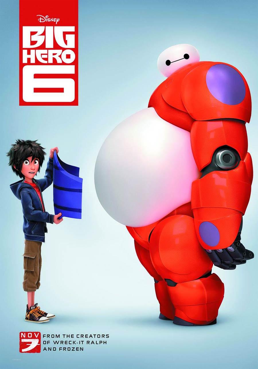 Big Hero 6 Blu-ray Combo DVD