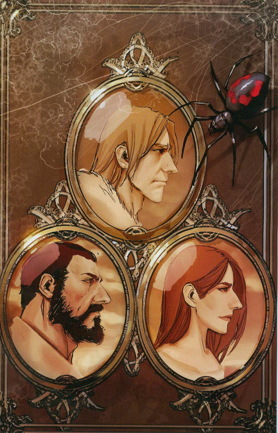 American Legends #1 Cover C Incentive Stjepan Sejic Virgin Variant Cover