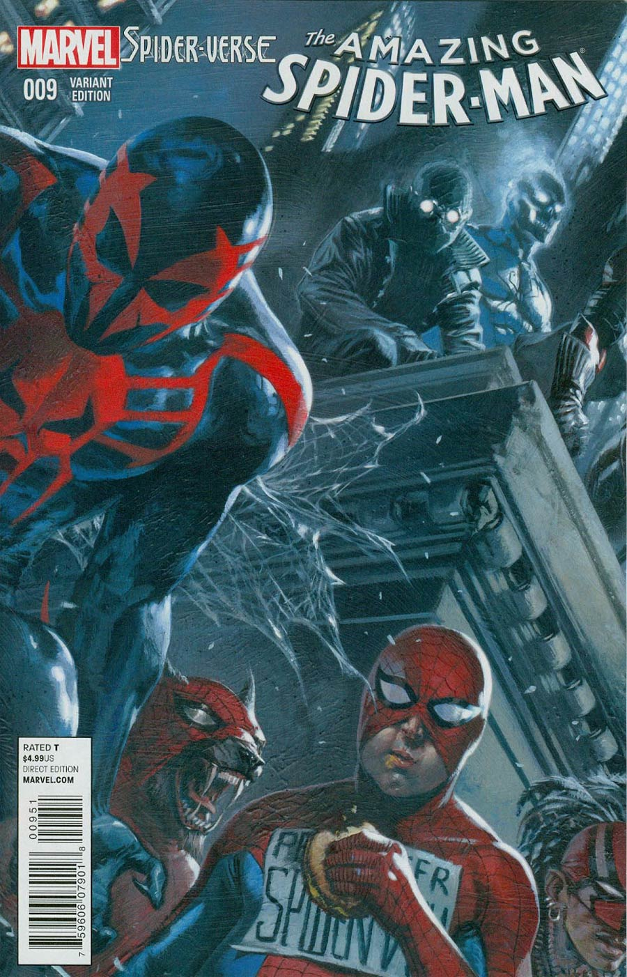Amazing Spider-Man Vol 3 #9 Cover D Incentive Gabriele Dell Otto Interconnecting Variant Cover (Spider-Verse Tie-In)(1 Of 6)