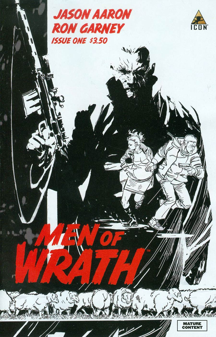 Men Of Wrath By Jason Aaron #1 Cover C 2nd Ptg Ron Garney Variant Cover