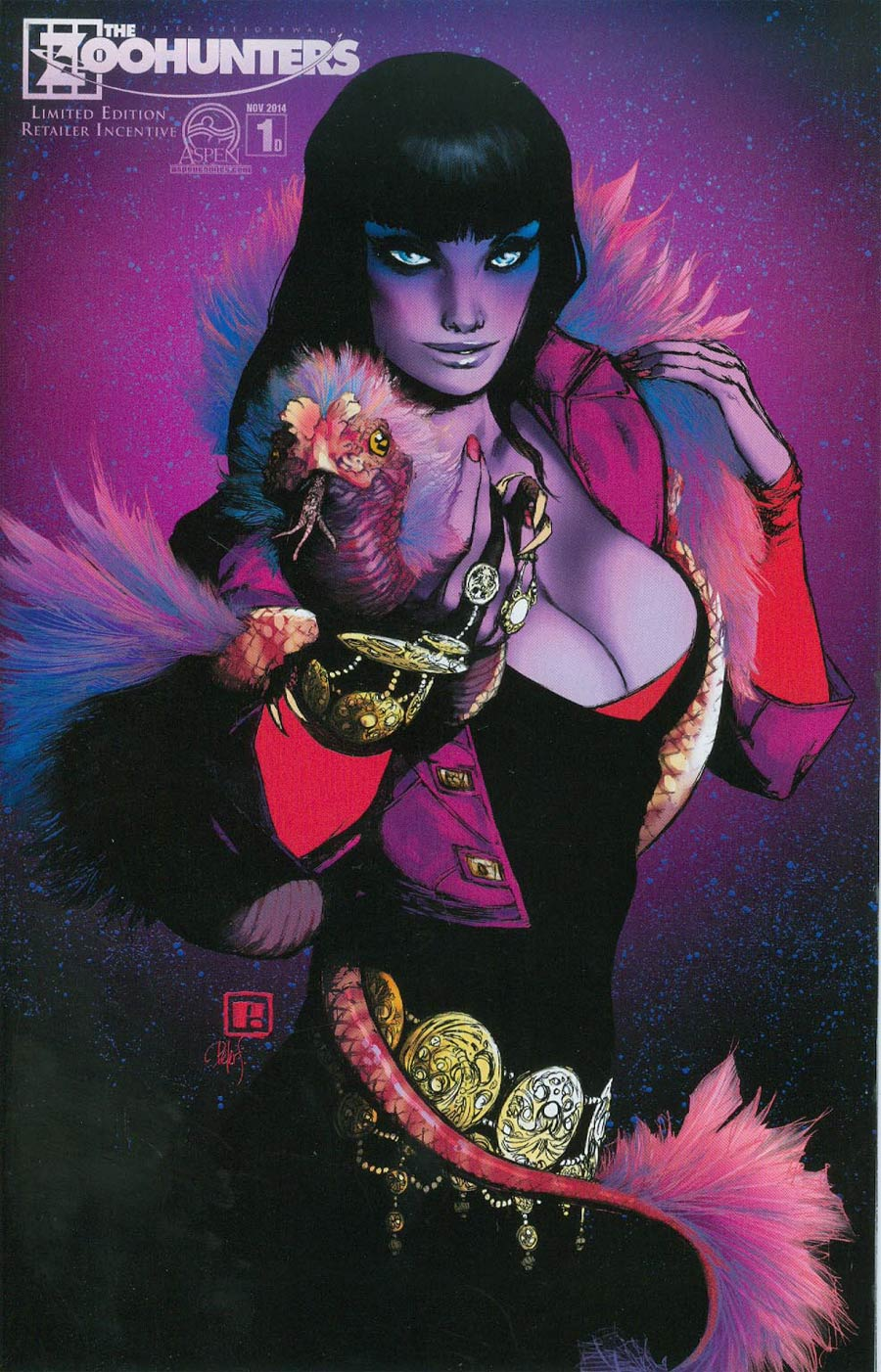 Zoohunters #1 Cover D Incentive Peter Steigerwald Expanded Variant Cover
