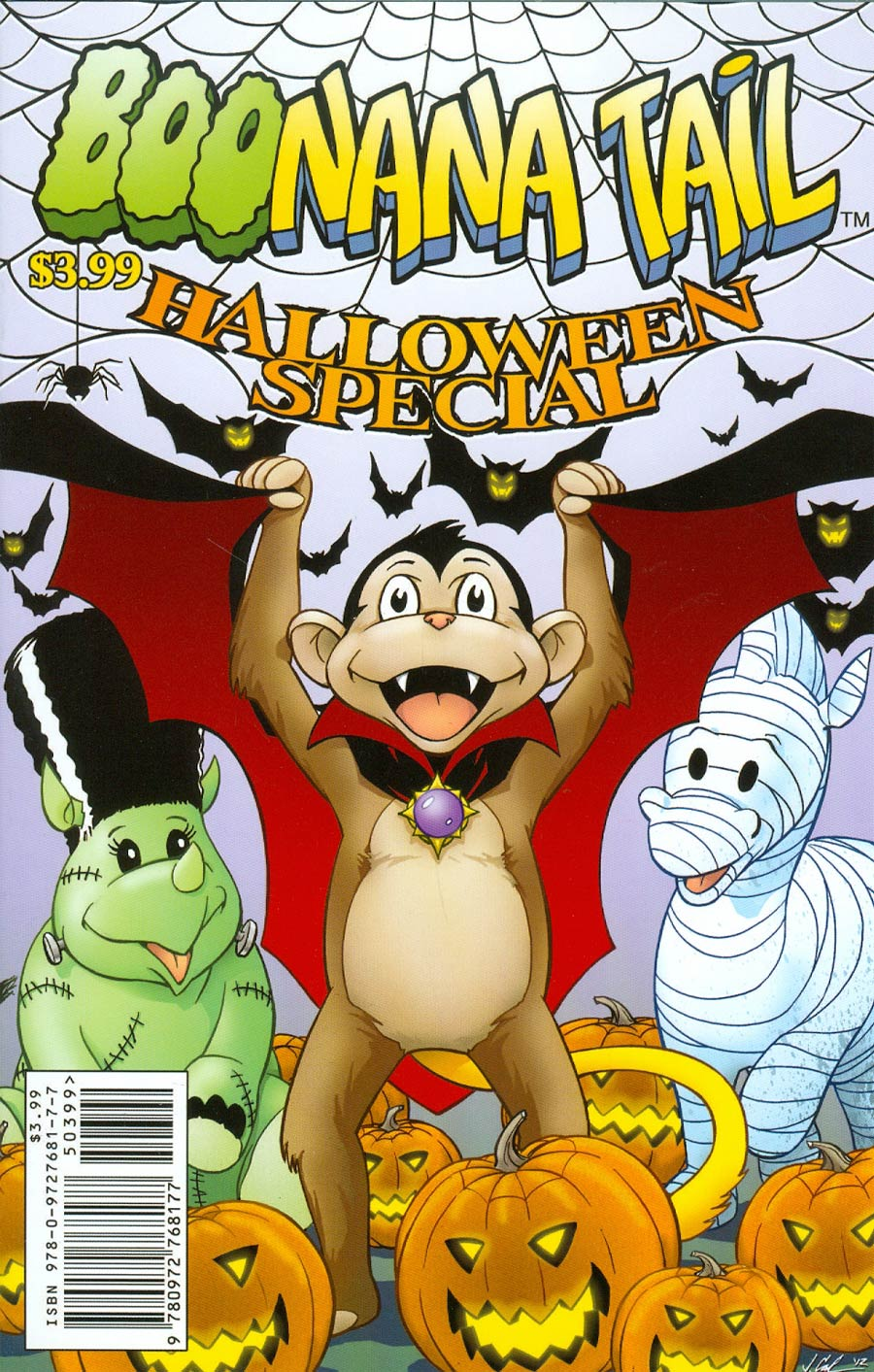 Boonana Halloween Special One Shot Cover A Jim Calafiore