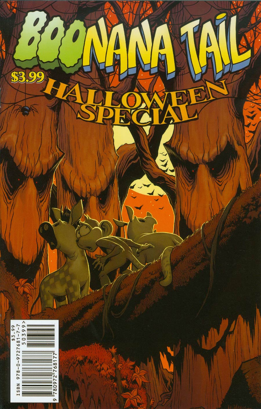 Boonana Halloween Special One Shot Cover B Shawn McManus