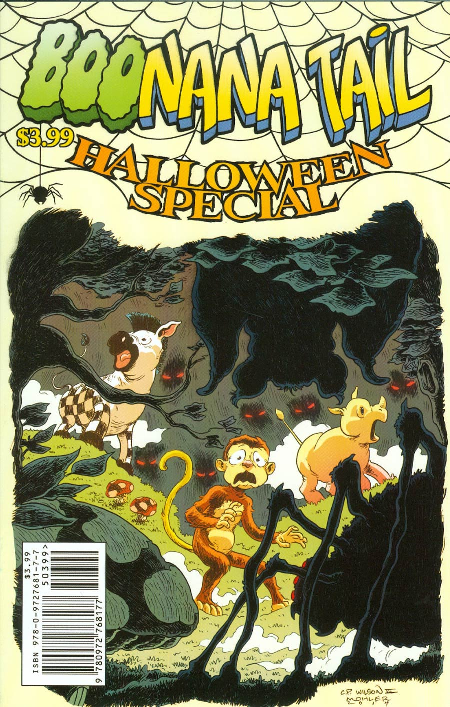 Boonana Halloween Special One Shot Cover C Charles Paul Wilson