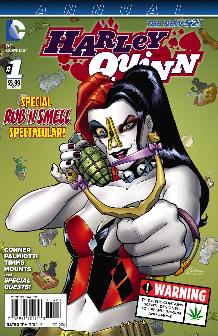 Harley Quinn Vol 2 Annual #1 Cover G Regular Amanda Conner Cover USA Edition Without Polybag