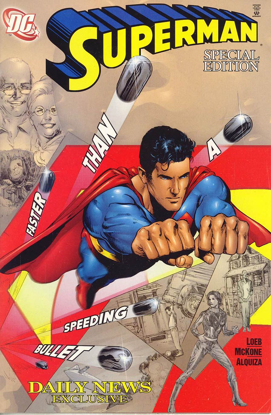 Superman Vol 2 #151 Daily News Exclusive