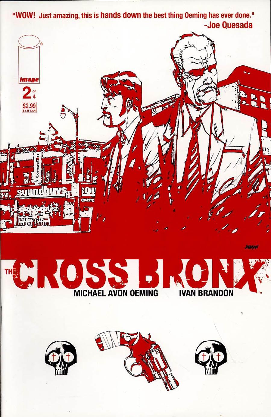 Cross Bronx #2 Cvr B Johnson
