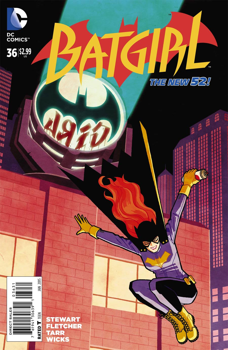 Batgirl Vol 4 #36 Cover C Incentive Cliff Chiang Variant Cover