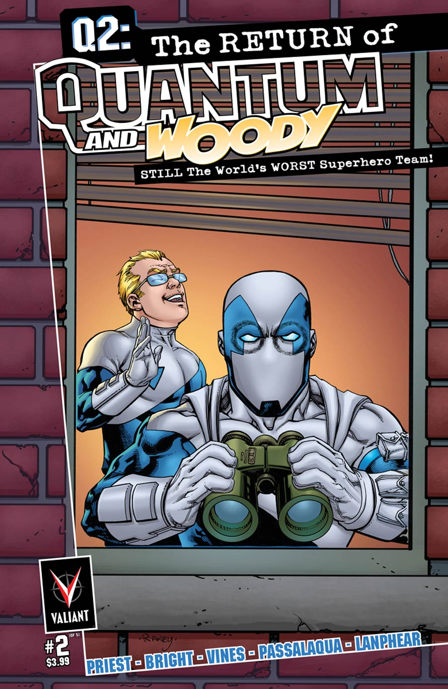 Q2 Return Of Quantum & Woody #2 Cover B Incentive Tom Raney Variant Cover