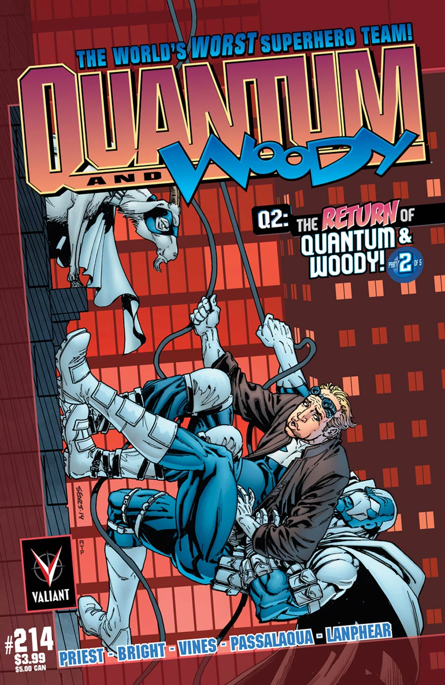 Q2 Return Of Quantum & Woody #2 Cover C Incentive Bart Sears Throwback Variant Cover