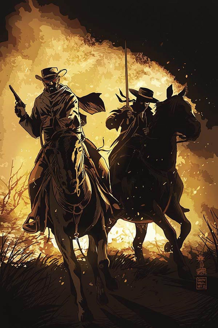 Django Zorro #1 Cover D Incentive Francesco Francavilla Virgin Cover