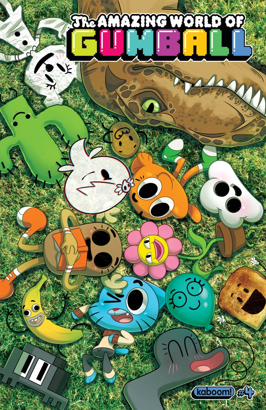 Amazing World Of Gumball #4 Cover A Regular Missy Pena Cover