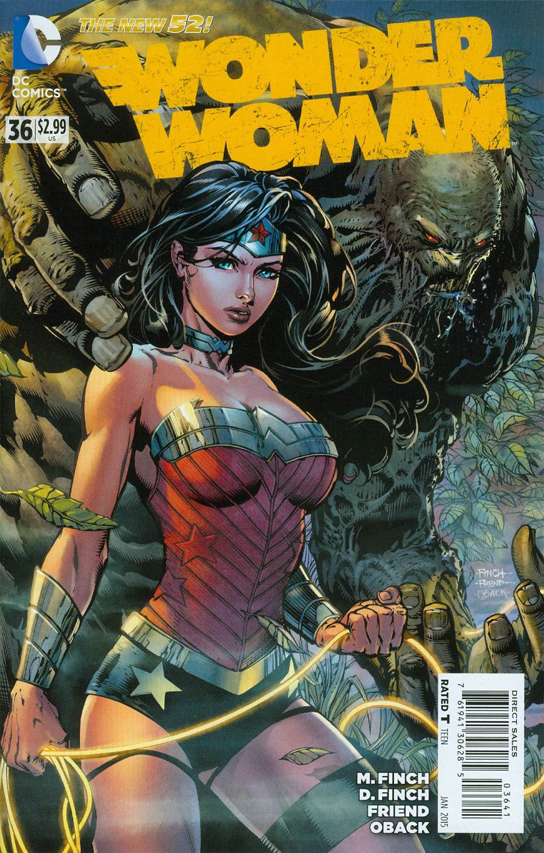Wonder Woman Vol 4 #36 Cover E Incentive David Finch Variant Cover