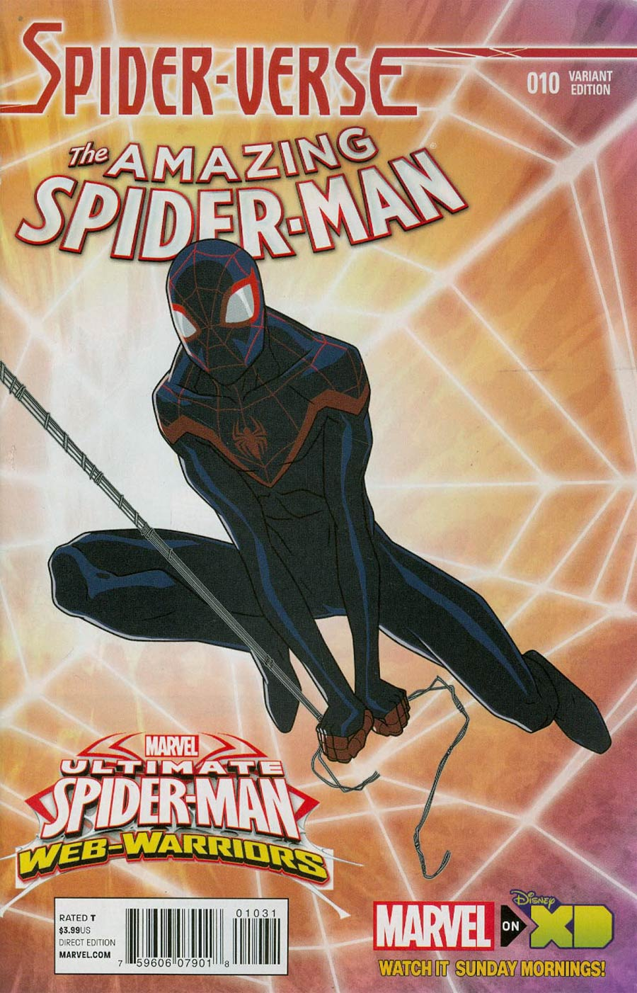 Amazing Spider-Man Vol 3 #10 Cover B Incentive Marvel Animation Spider-Verse Variant Cover (Spider-Verse Tie-In)