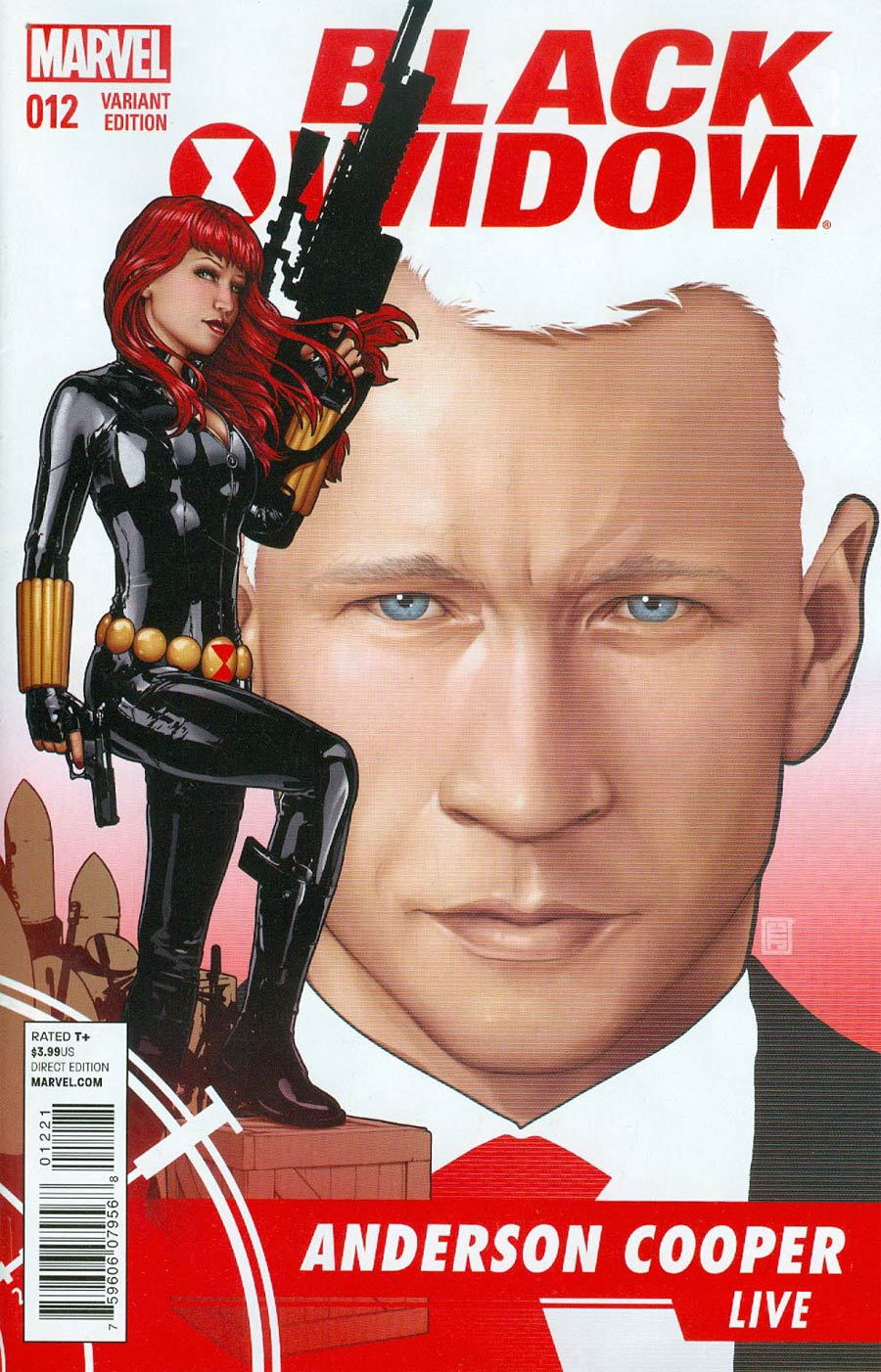 Black Widow Vol 5 #12 Cover B Incentive John Tyler Christopher Variant Cover